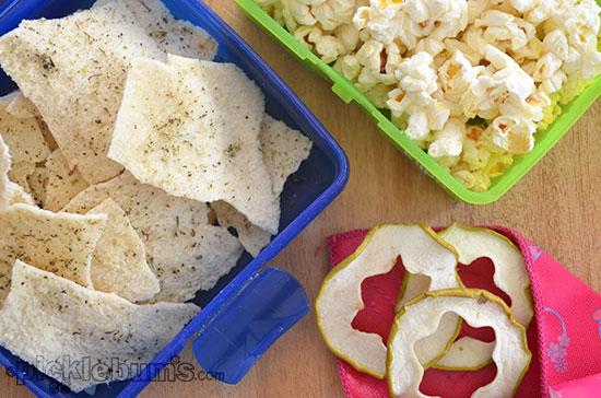 Ten Healthier Lunchbox Treats