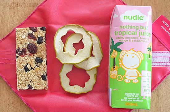 Ten Healthier Lunch Box Treats