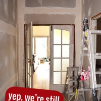 Still Renovating - a story of never ending renovations and why I am happy about it... mostly.