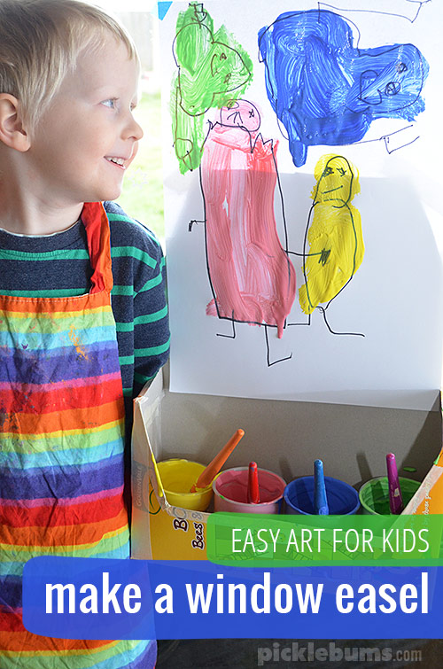 Make a simple window easel and get creating!