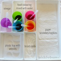 Eye Dropper Activity Tray