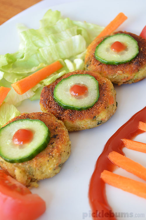 monsterific veggie nuggets!