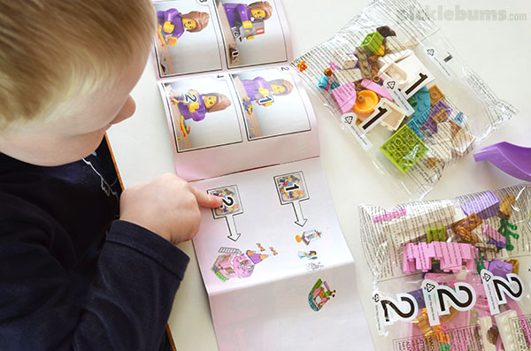 Beginning Reading With Lego - because there is more to learning to reading than just words and books
