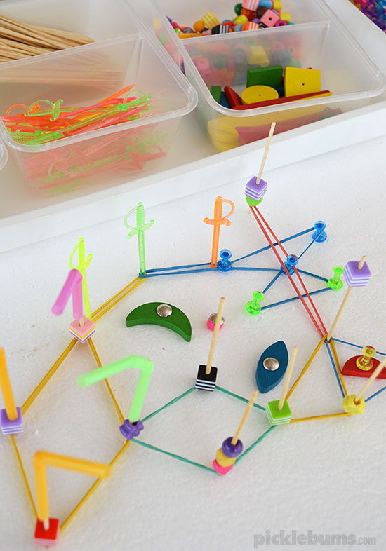 Make your own DIY Geoboard and add some cool and crazy accessories for even more fun!