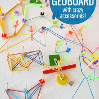 Crazy DIY Geoboard