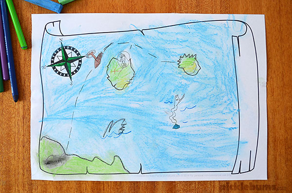 mapmaker drawing prompt make your own maps with this free printable drawing prompt - Kid Drawing Picture
