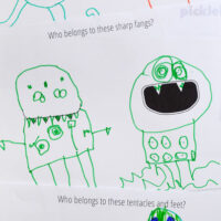 monster drawing prompts