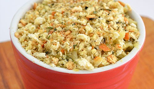 try this easy cheesy spinach pasta bake recipe