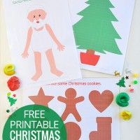 photo relating to Free Printable Christmas Crafts known as Xmas Printables! - Pickles