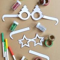 Free Printable Christmas Glasses!