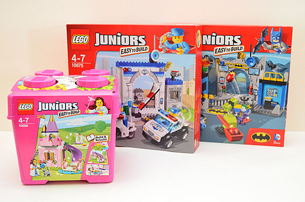 Our favourite toys for toddlers to tweens - win one of three LEGO Junior sets