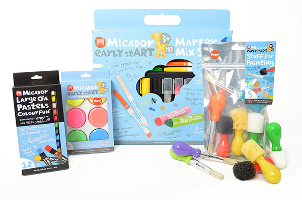 Find out what sensory play and art supplies we love and win this Micador art hamper