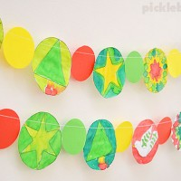Make an Easy Christmas Garland – Free Printable