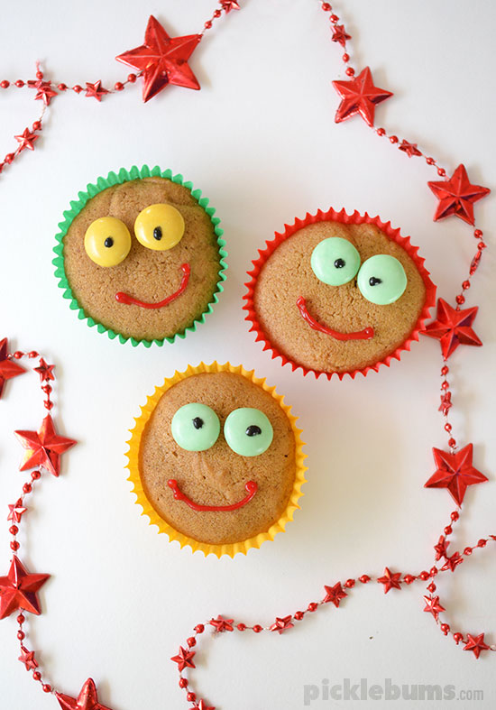 Gingerbread cupcakes recipe