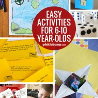 Easy Activities for 6-