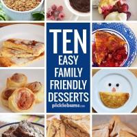Ten Easy Family Desserts