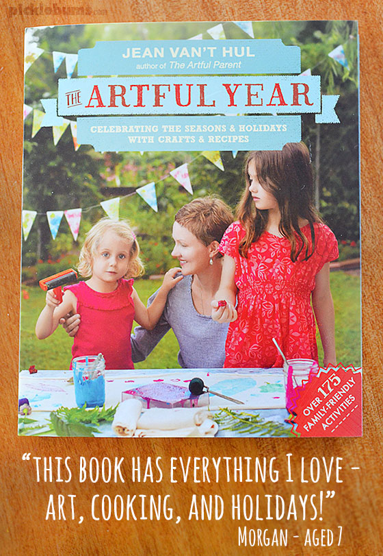 The Artful Year book by Jean Van't Hul -  Author interview