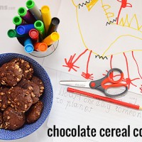 Chocolate Cereal Cookies