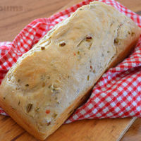 Lazy Bread - easy 'no knead' bread dough that that last for a week in the fridge!