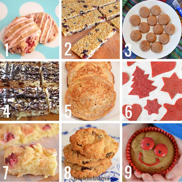 9 ideas for homemade lunch box treats.