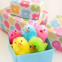 Print and Fold Easter boxes - free printable gift boxes perfect for little Easter gifts.