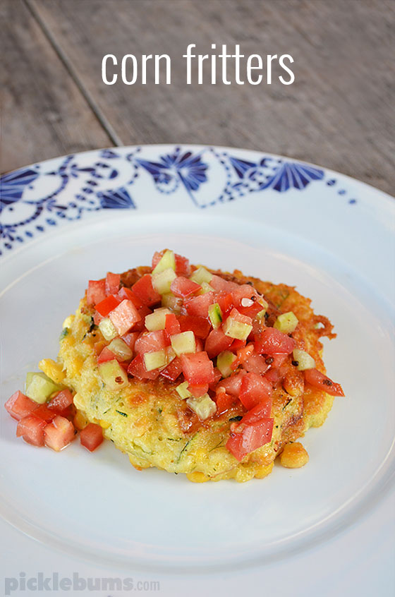 Corn Fritters - easy and delicious recipe for breakfast lunch or dinner!