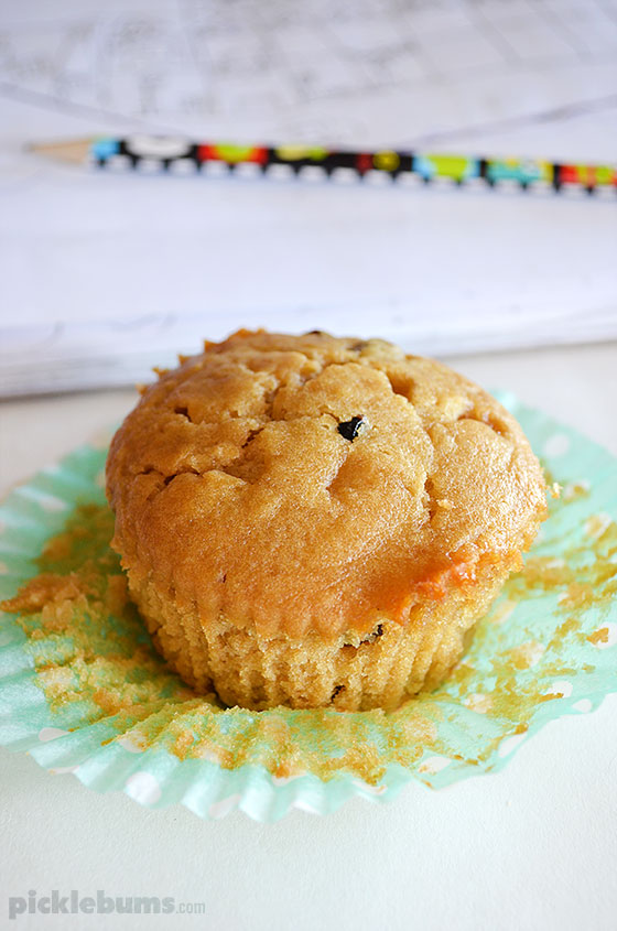 Golden Syrup Muffins
