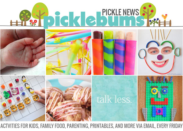 Sign up for the Pickle News - a weekly newsletter from picklebums.com