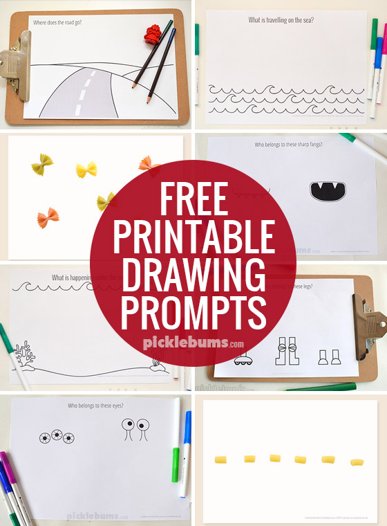 Drawing Prompts - Picklebums