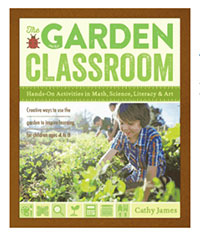 The Garden Classroom by Cathy James - an interview with the author and give away