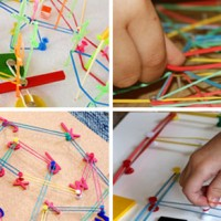 20+ Geoboard Ideas, Activities and Free Printables.