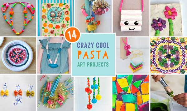 14 Crazy cool pasta art projects! Join in #themacronichallenge fun!