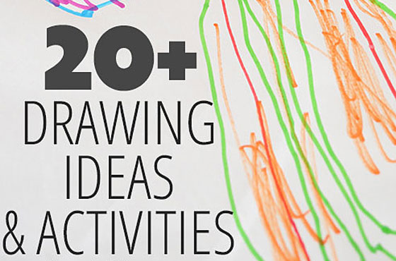20+ drawing ideas, activities and inspiration