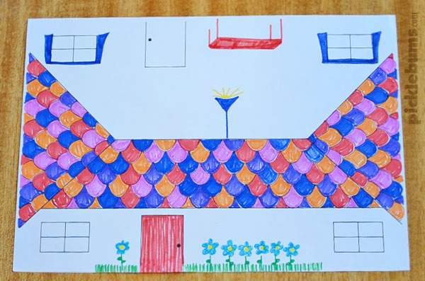 Make A Paper Doll'S House - Free Printable - Picklebums