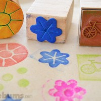 Play Dough Stamping.