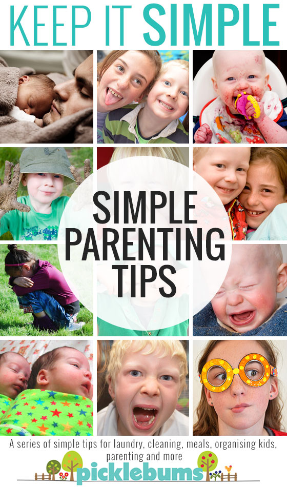 Simple tips and ideas for being a better parent.