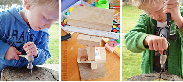 20+ ways to create and learn with wood