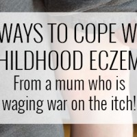 10 Ways to Cope with Childhood Eczema