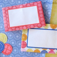 Two Easy Foldable Letters
