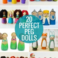 20 Perfect Peg Dolls!