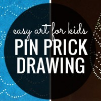 Pin Prick Drawing