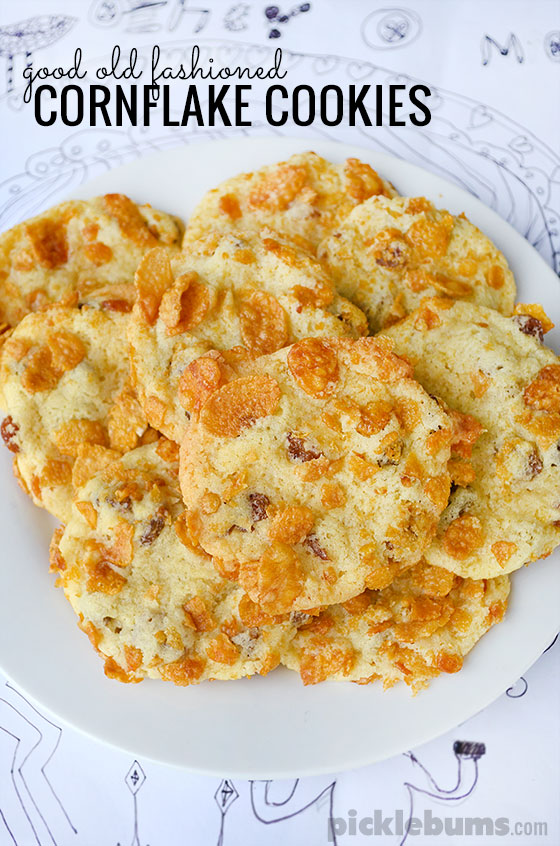 Cornflake Cookies - the perfect afternoon snack
