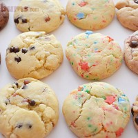 Try this easy freezable cookie recipes - it makes lot of cookie dough quickly and easily!