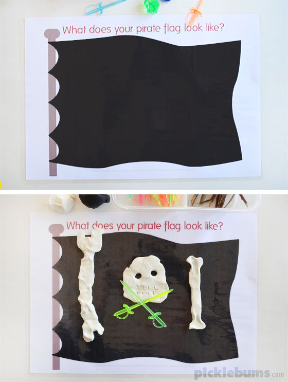 http://picklebums.com/wp-content/uploads/2015/09/pirate-flag-play-dough-mat.jpg