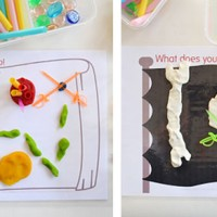 Pirate Play Dough Mats – Free Printable!