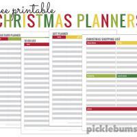 Simple tips for a calm Christmas - plus four free printable Christmas planners