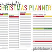 Simple tips for a calm Christmas - plus four free printable Christmas planners