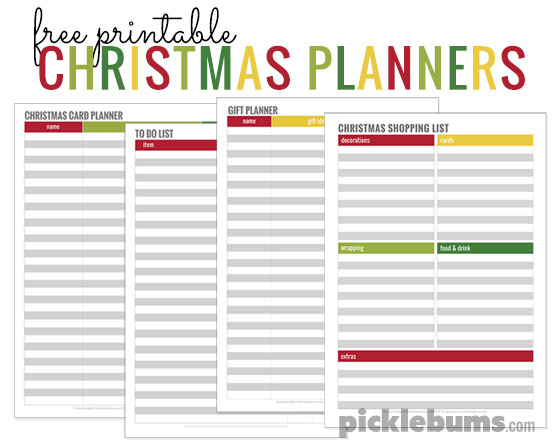 simple tips for a calm christmas plus four free printable christmas planners