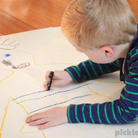 Ten ways to encourage a child who doesn't like to draw