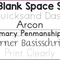 The Best Free Fonts to use with Beginning Writers